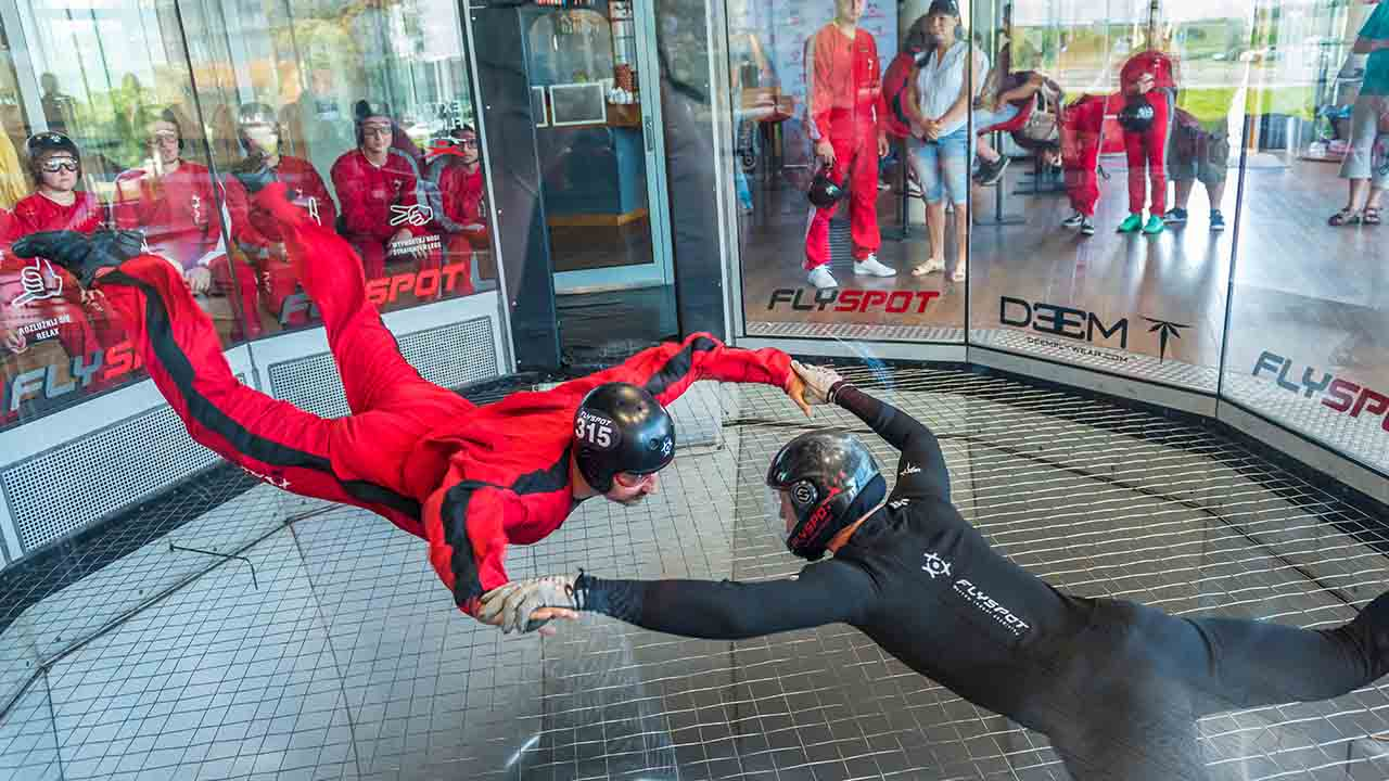 What's it like to go indoor skydiving?