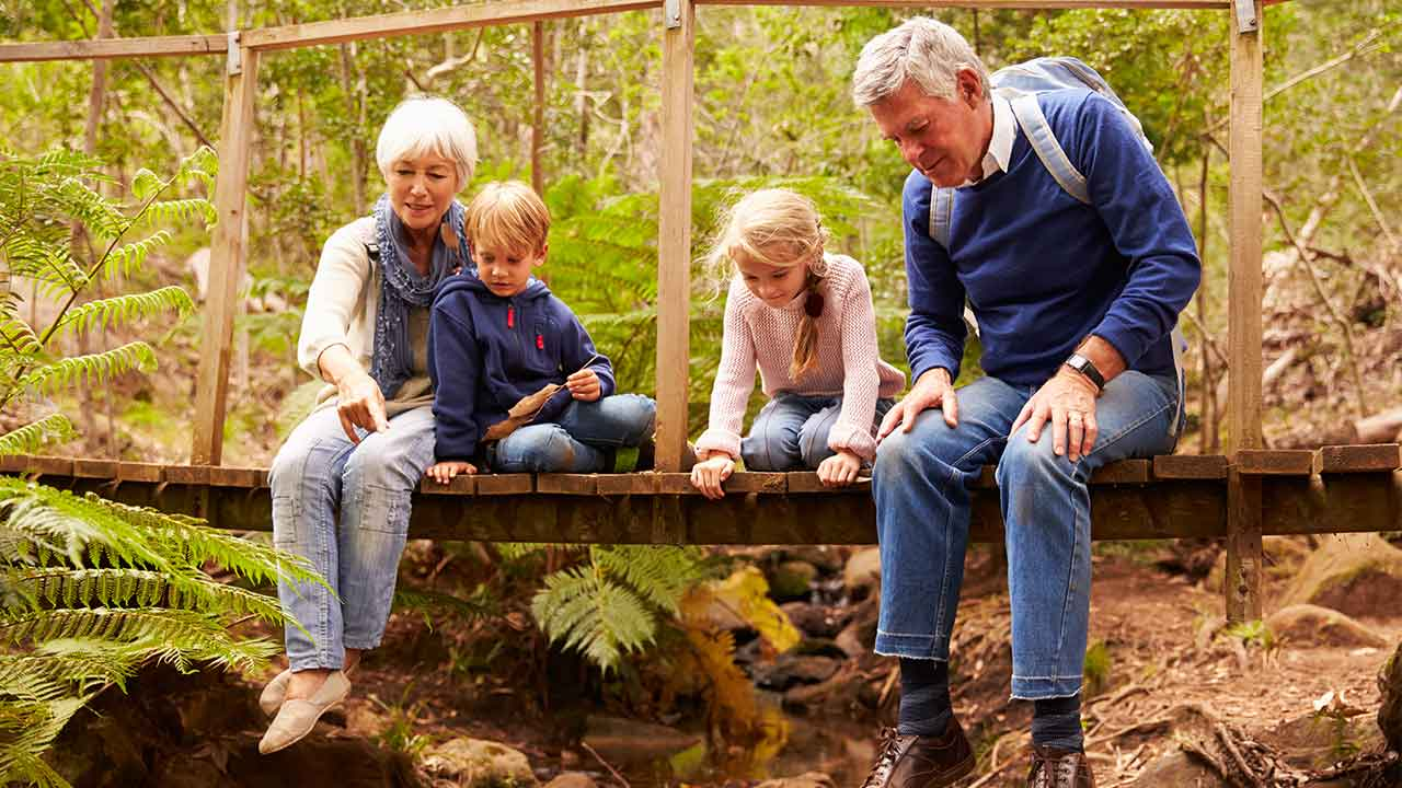 Planning a trip with the grandkids? Here's how to make it fun!