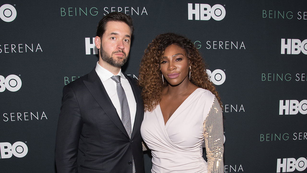 """""""You have to show up"""": Serena Williams' husband shares the secret to their happy marriage"""