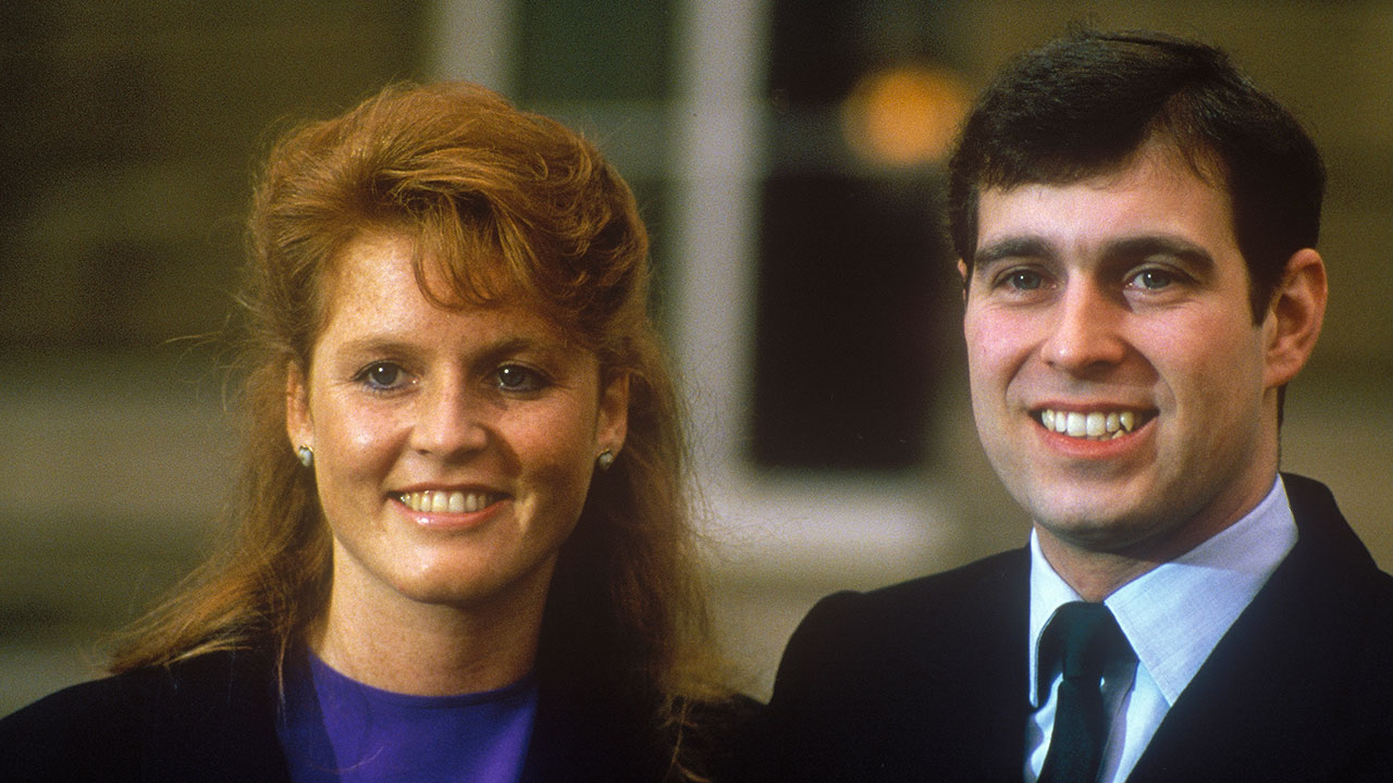 Fergie shares rare photos of Prince Andrew on his birthday