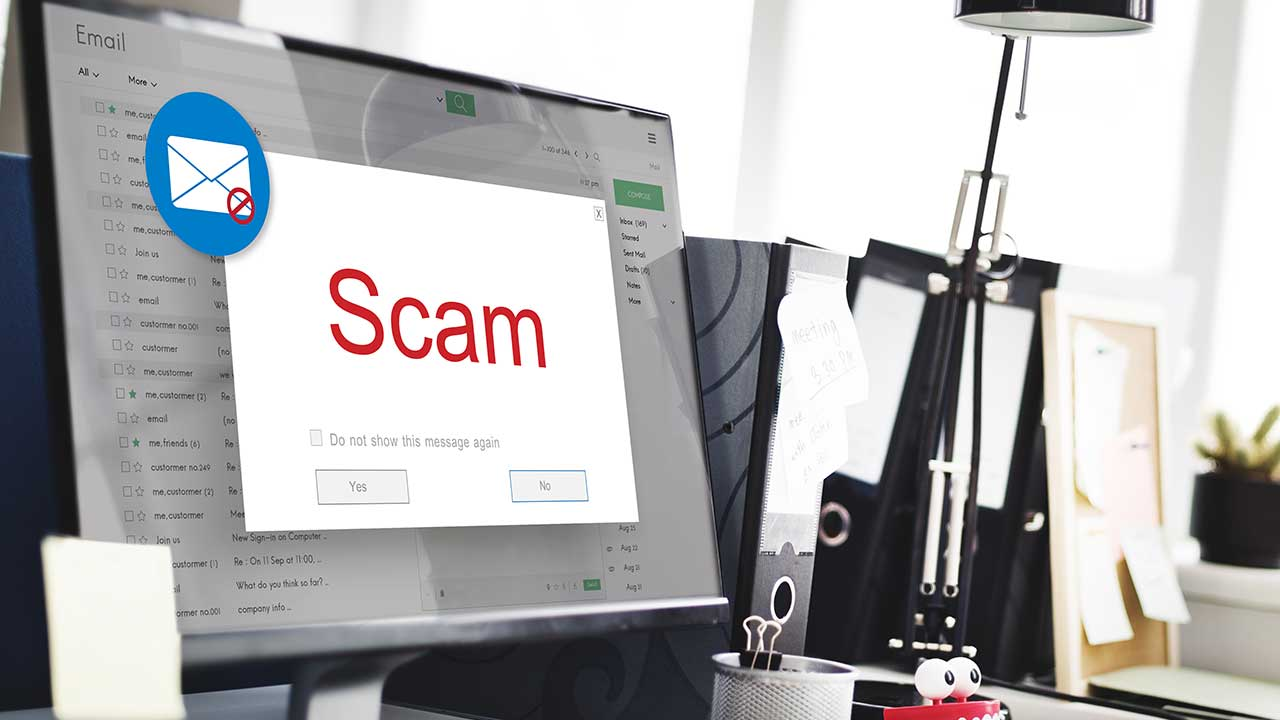 Do you know the warning signs for email scams?