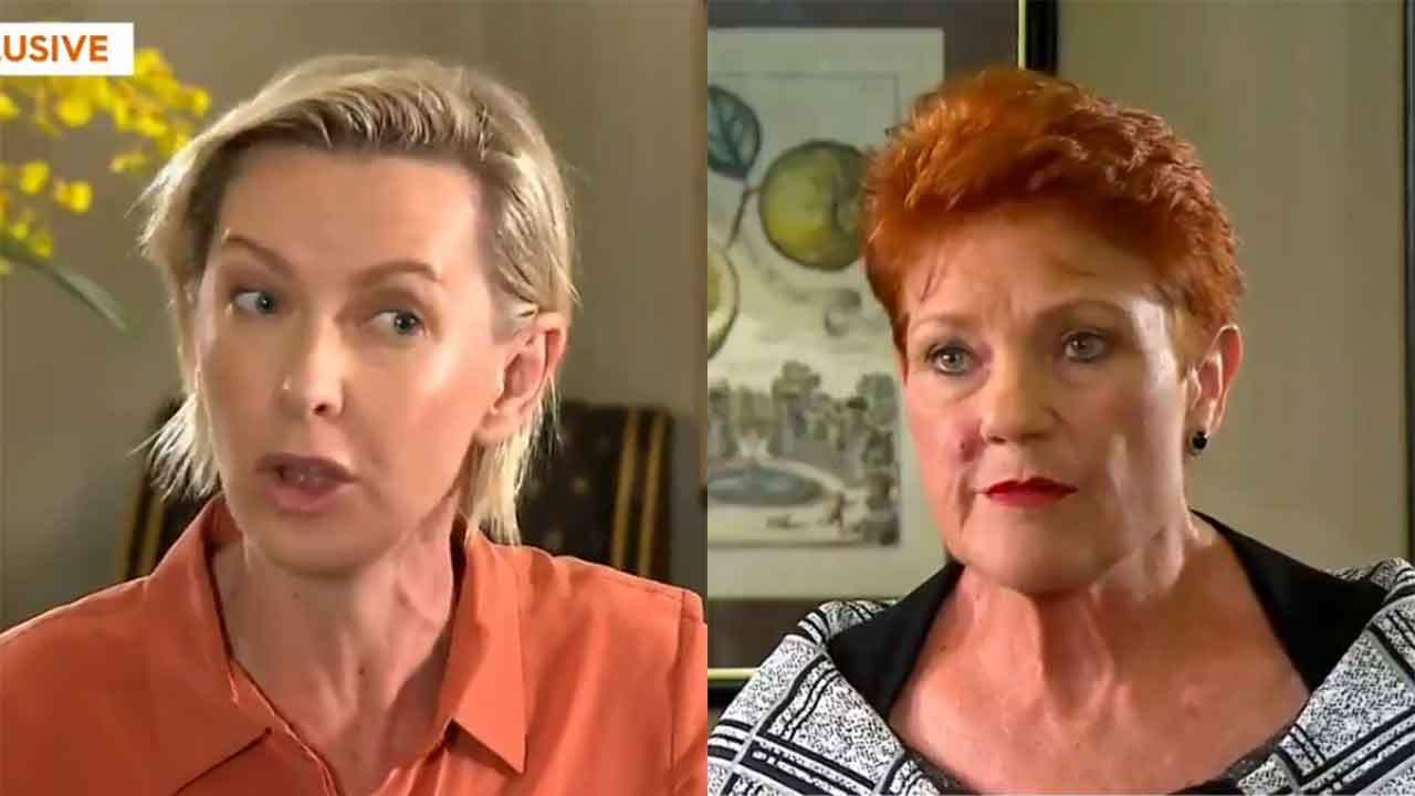 """""""It was a sting"""": Deb Knight stunned over shock Pauline Hanson admission"""