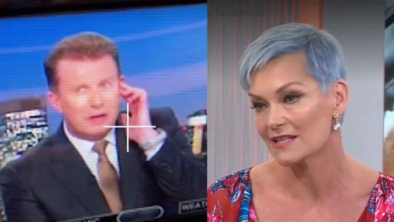 Leaked footage shows Peter Overton's priceless reaction to wife Jessica Rowe's cooking