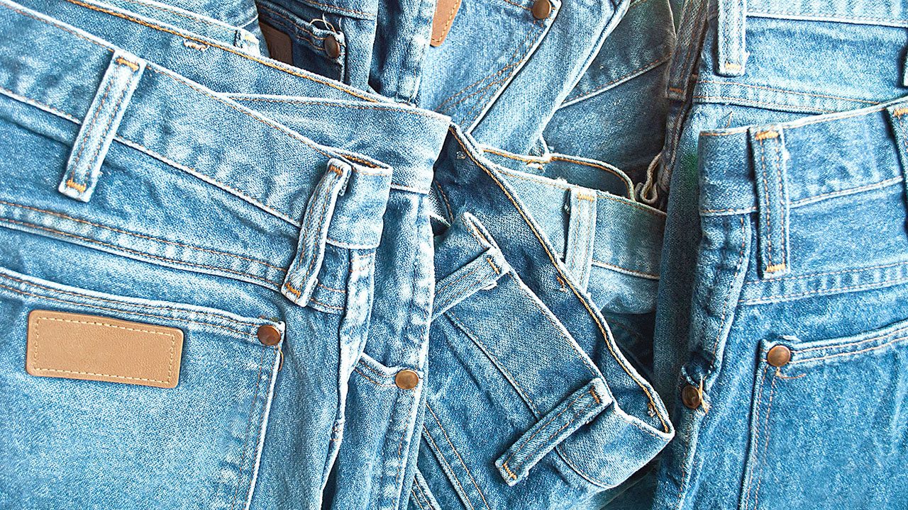 The correct way to clean your jeans without washing them