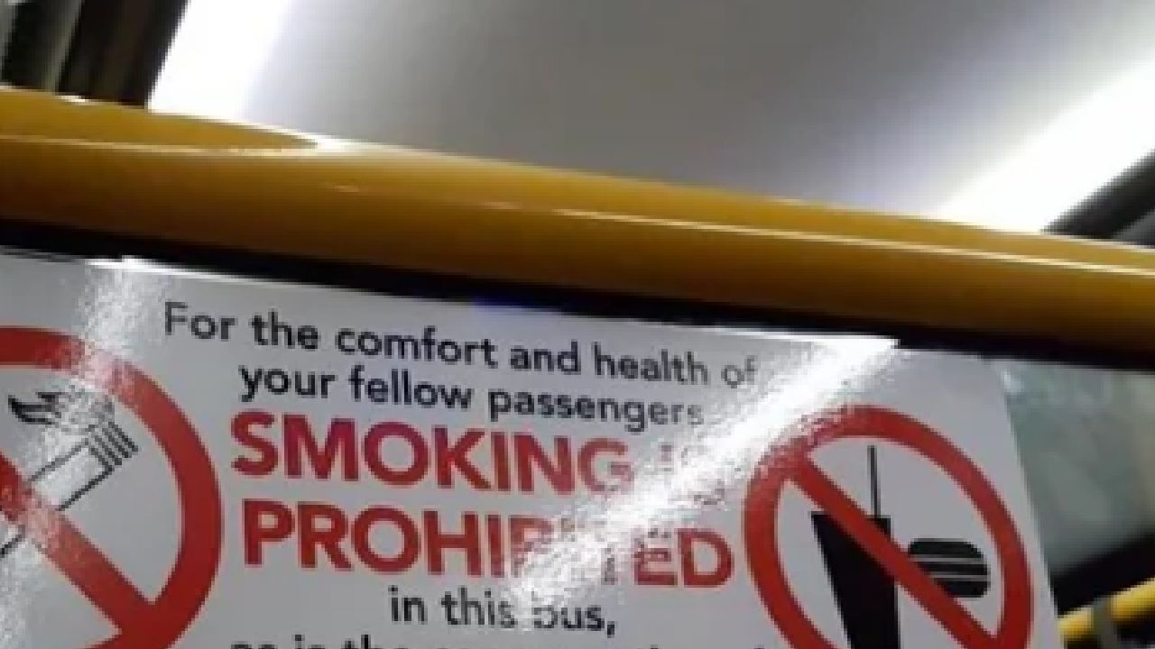 Can you spot the mistake in this Aussie bus sign?