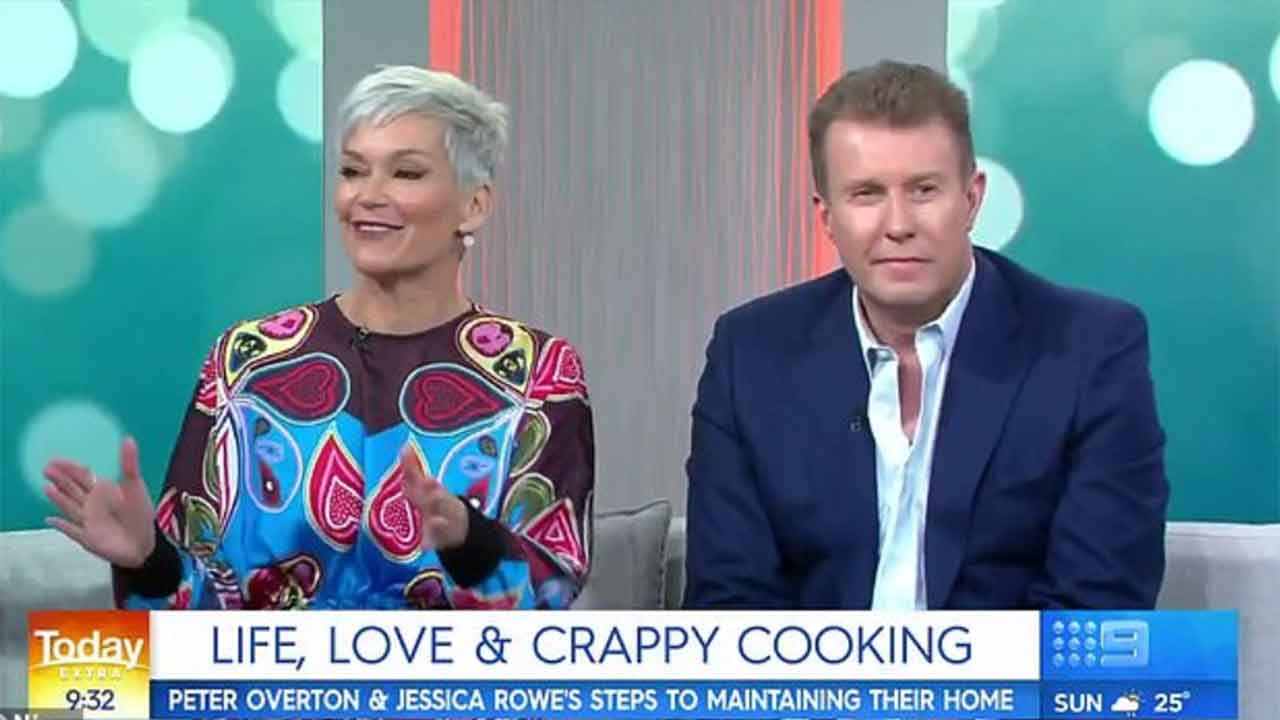 Peter Overton's surprising admission about wife Jessica Rowe
