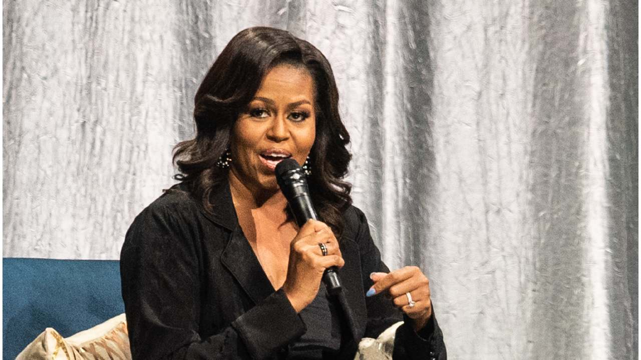 """Michelle Obama shares """"one of the best texts"""" she has ever received"""