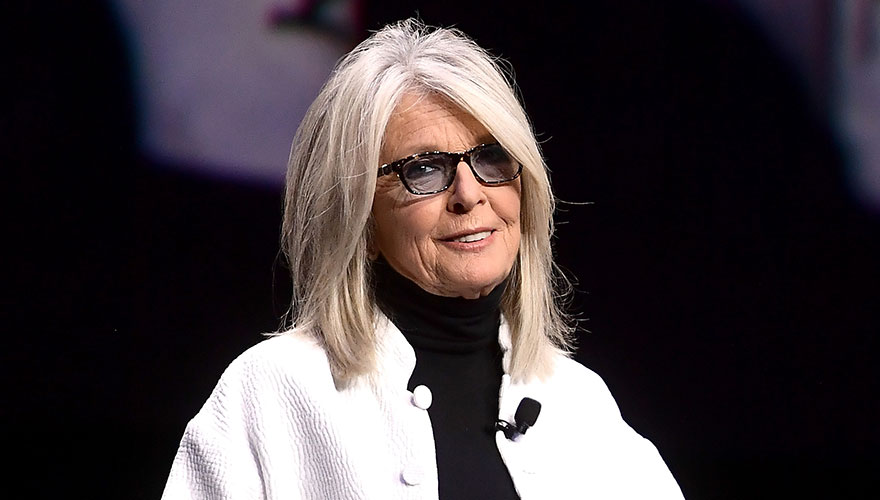 """You are my hero!"": Diane Keaton stuns fellow A-list celebs with her iconic style"