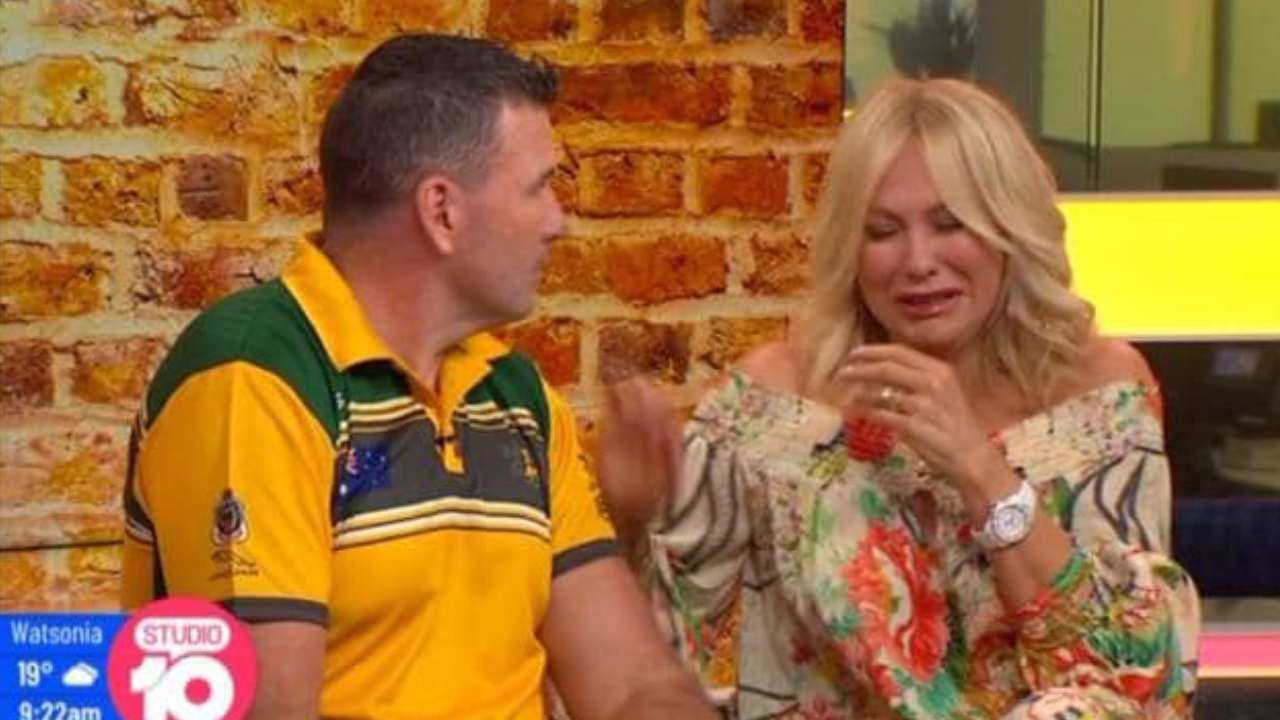 """I'm so sorry"": Kerri-Anne Kennerley's emotional moment during Studio 10 interview"