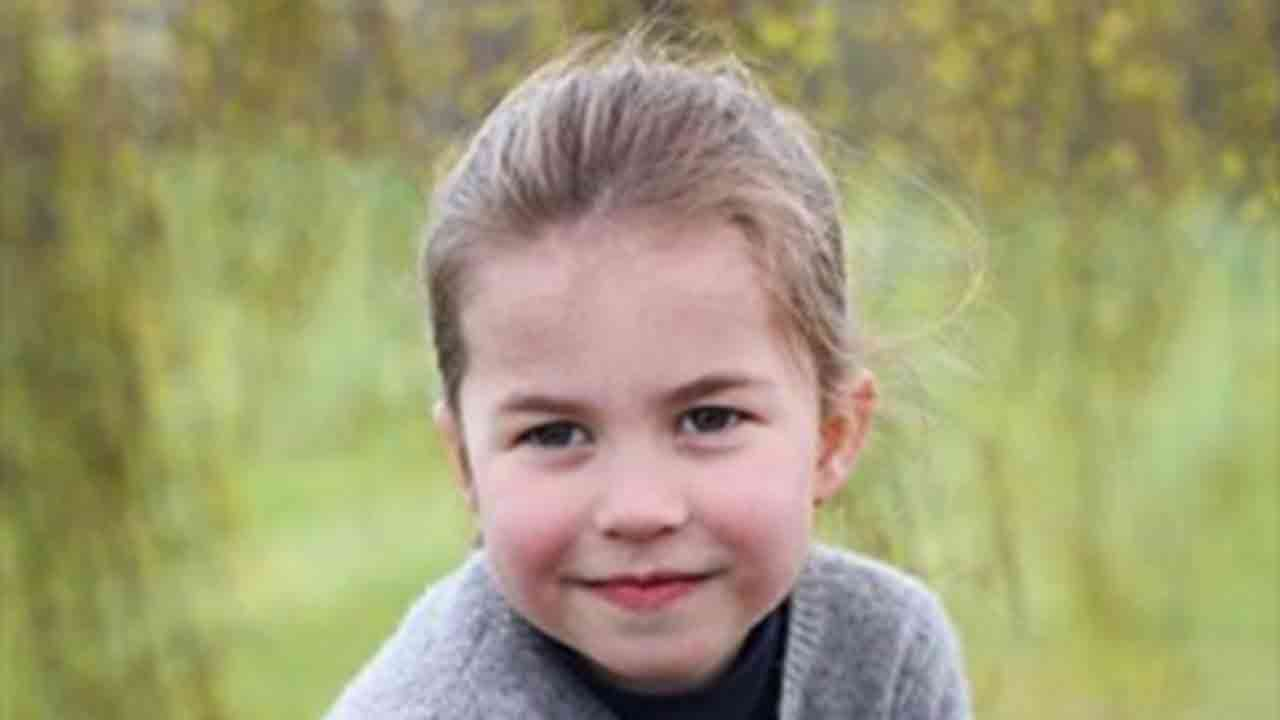 The Queen's mini-me! Palace celebrates as Princess Charlotte turns 4