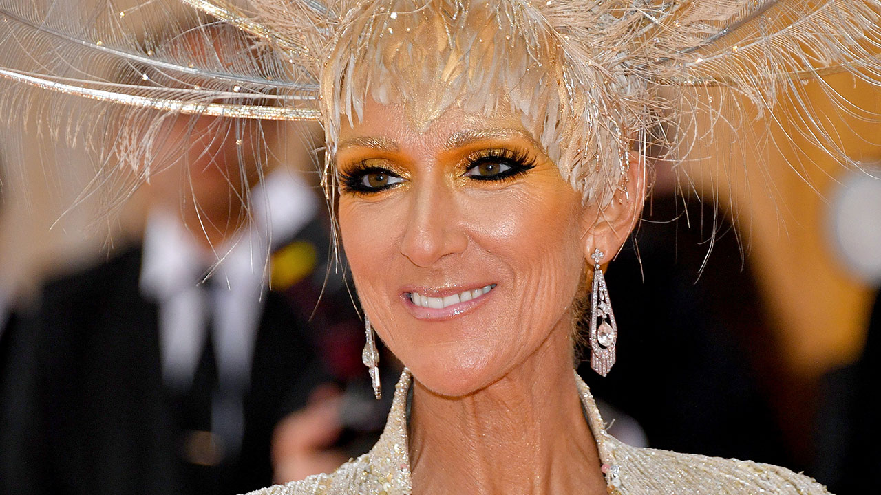 Celine Dion's grand entrance in shimmering showstopping number at Met Gala