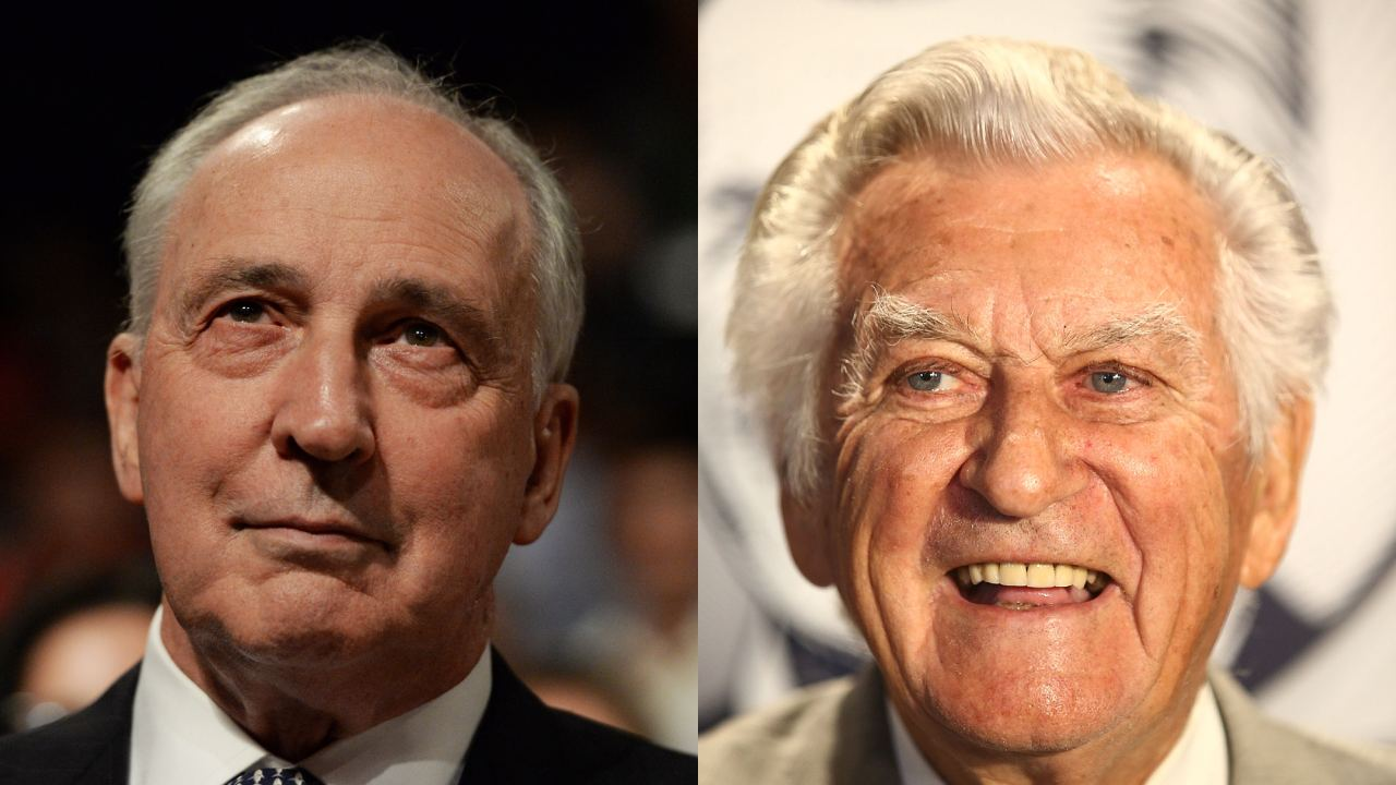 """A dubious proposition even for him"": Bob Hawke and Paul Keating reunite to slam PM Scott Morrison"