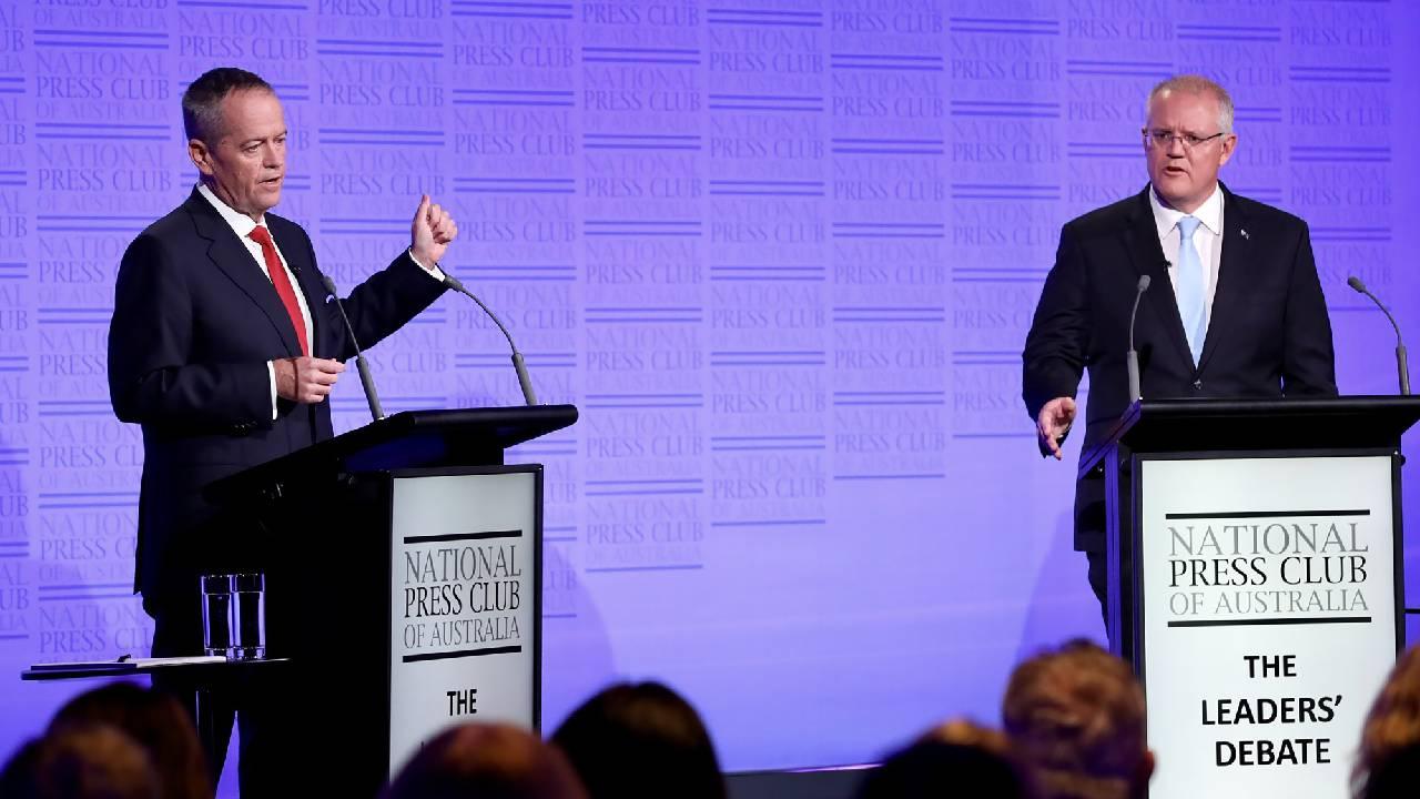 """No need to get nasty"": Scott Morrison and Bill Shorten's heated final debate"