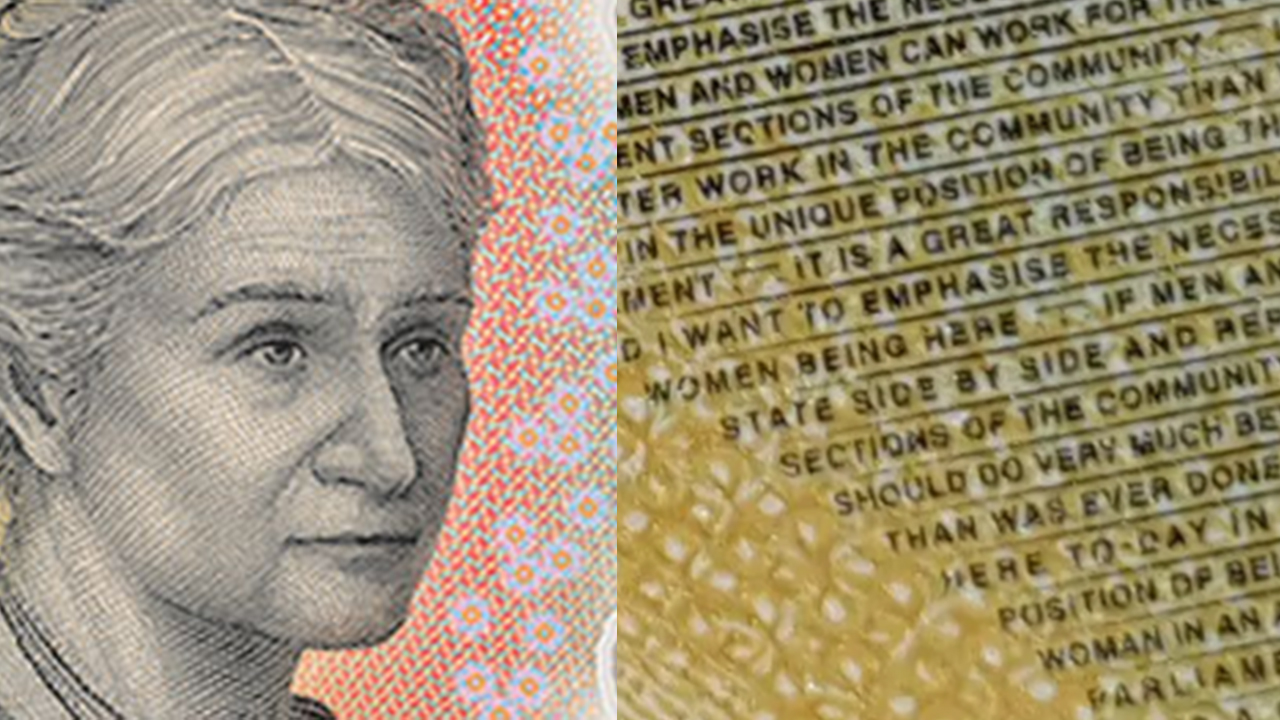 Can you spot it? The irresponsible spelling mistake on the new $50 note