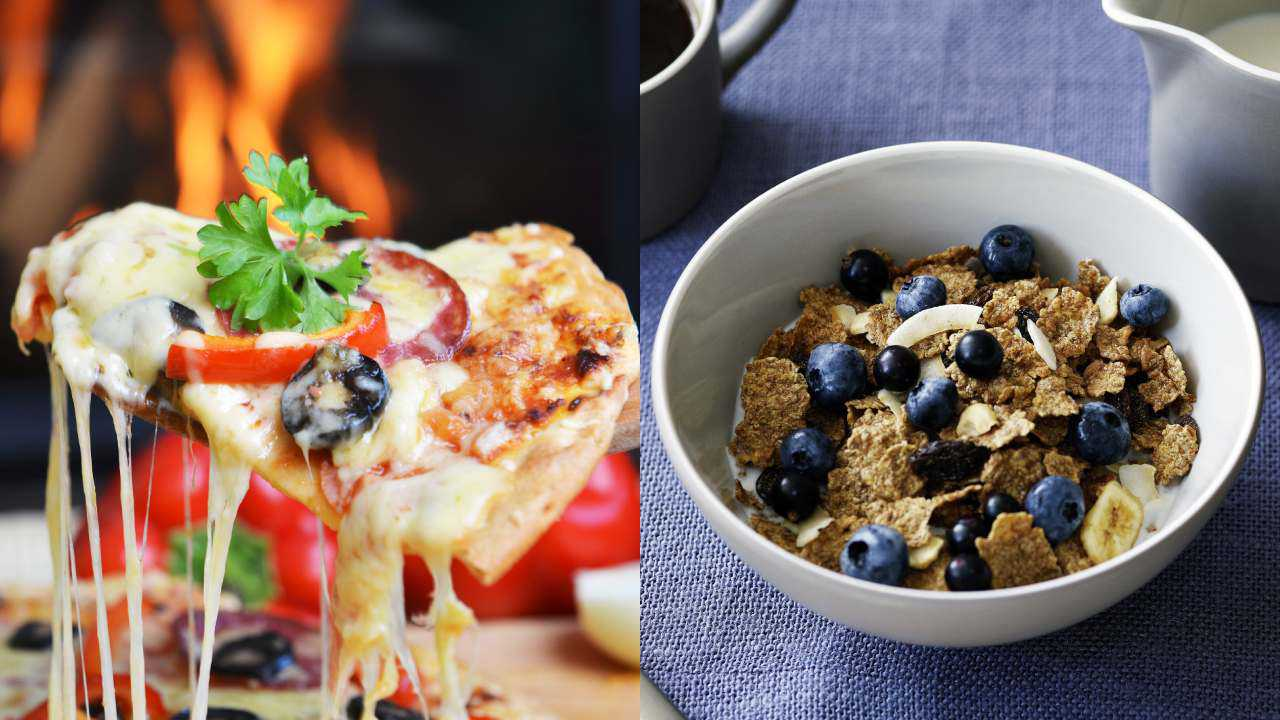 Pizza vs cereal: Nutritionist weighs in on the healthier breakfast option