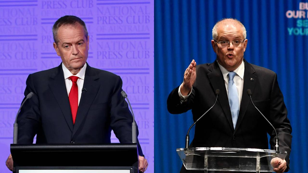 Bill Shorten vs Scott Morrison: The leader on track to win the federal election this Saturday