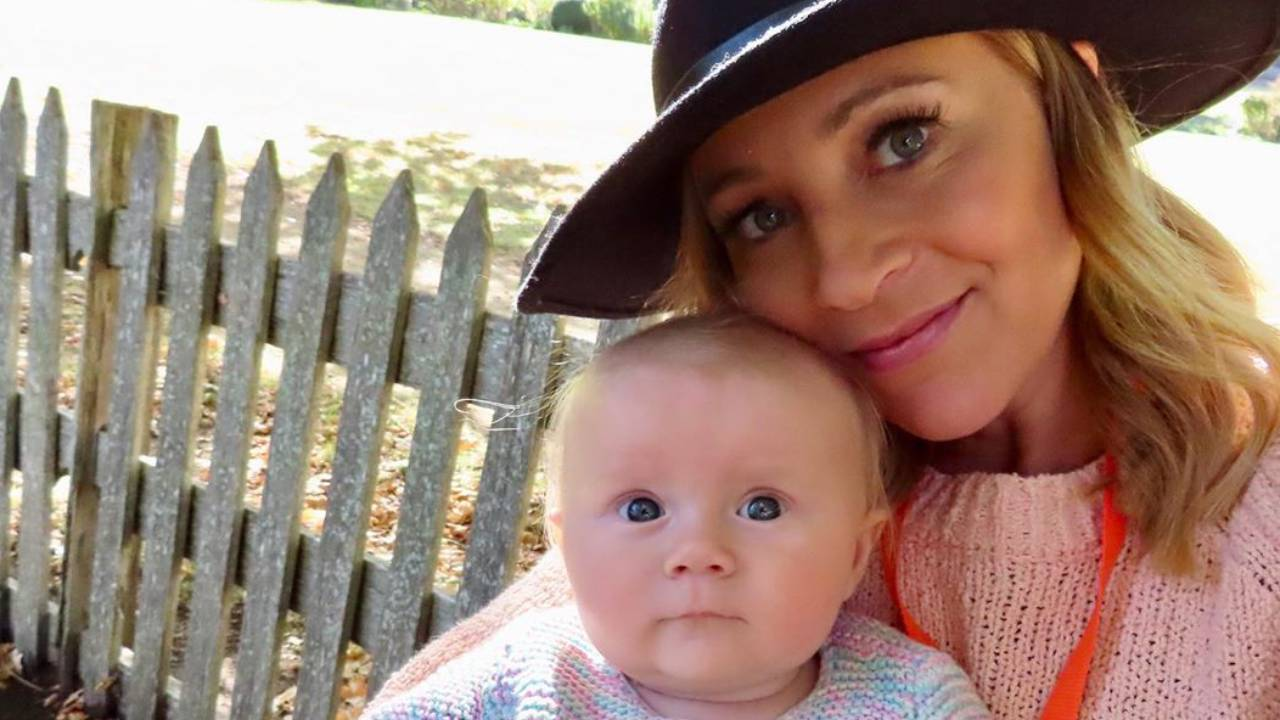 """""""It's stressful, lonely, scary"""": The Project's Carrie Bickmore reveals struggles of motherhood"""