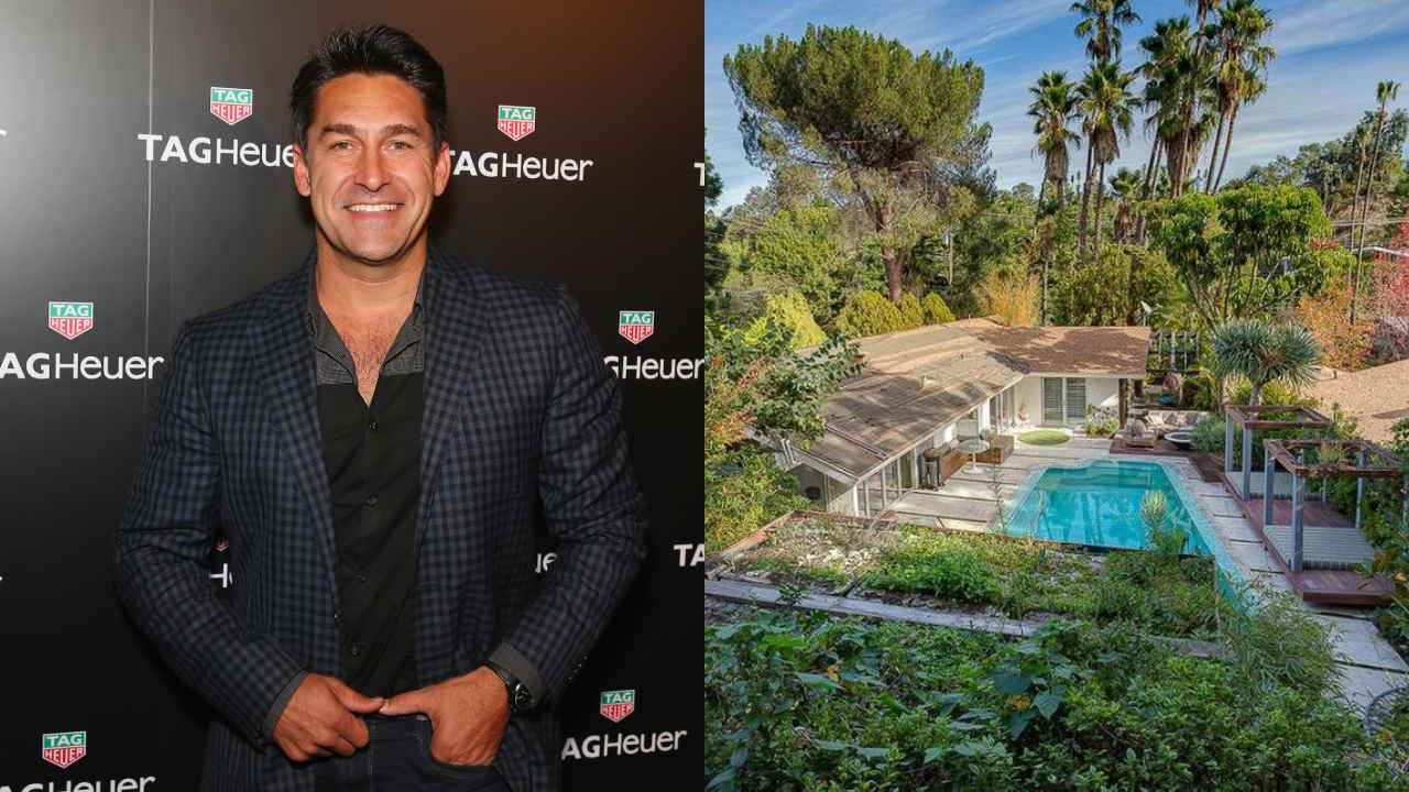 A look inside Jamie Durie's spectacular $3.5m Hollywood Hills home