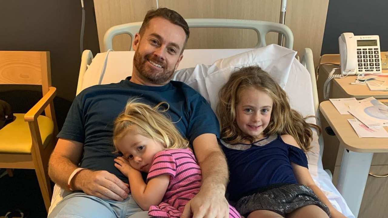 """Grant Denyer reveals how his daughters saved him during his """"worst times"""""""