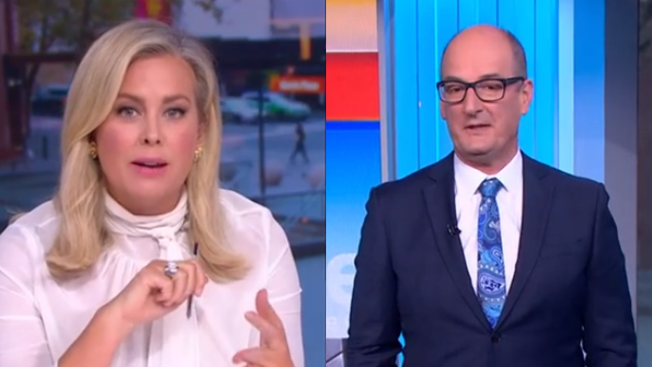 """""""They're still going overseas and buying leather couches"""": Kochie and Sam hit out at millennials on home ownership"""
