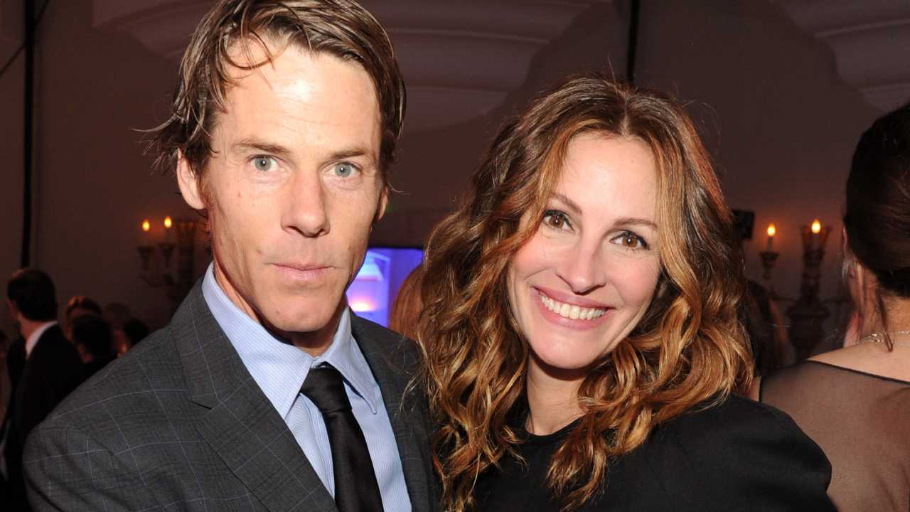 All grown up! Julia Roberts' husband shares rare family photo of their kids