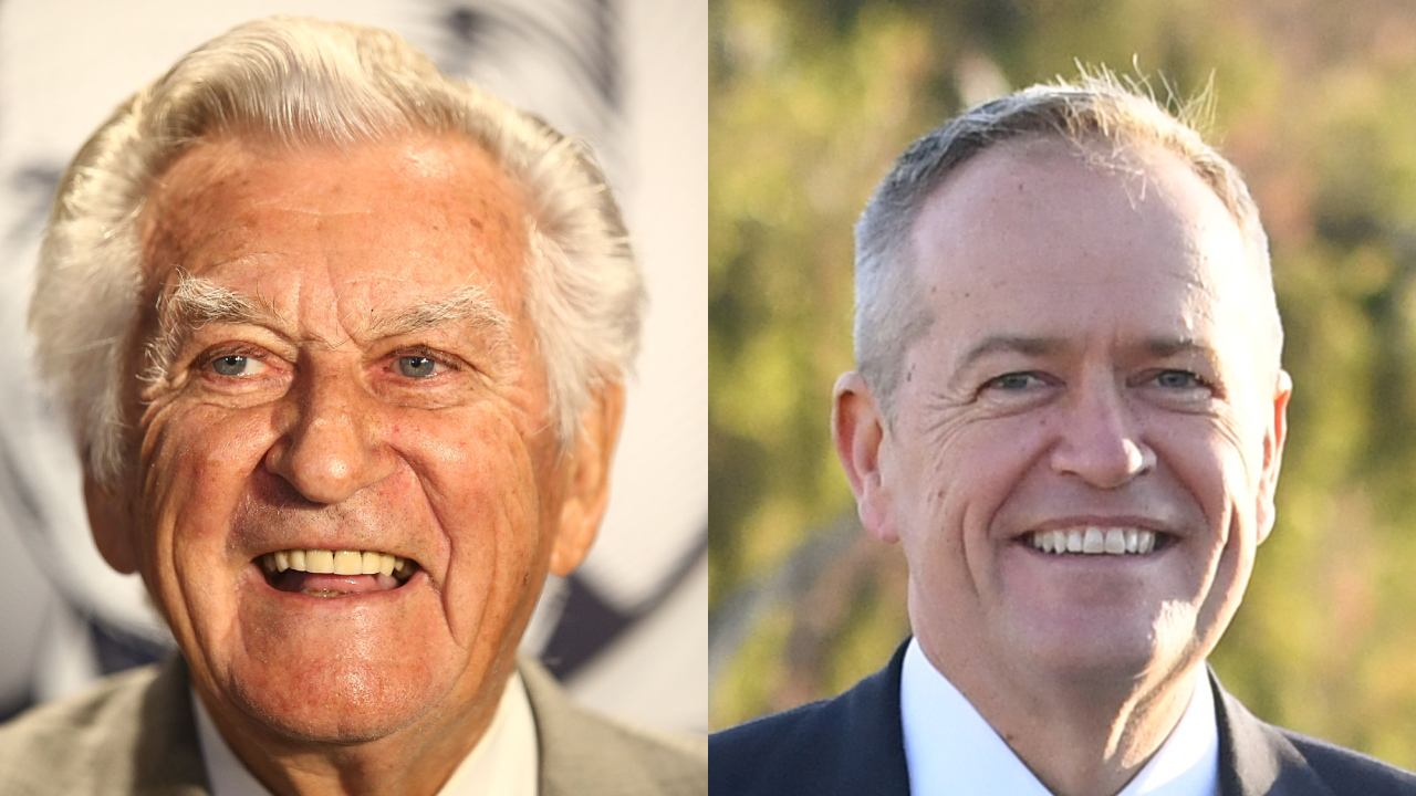 """""""He will serve our nation well"""": Bob Hawke backs Bill Shorten in open letter to voters"""