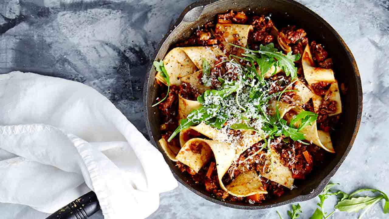 Best ever skillet lasagne
