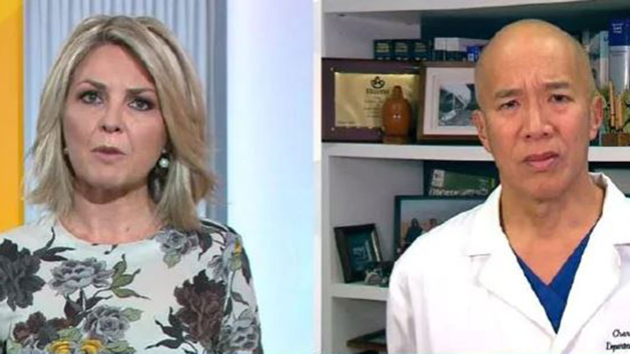 """Let's get our facts straight"": Surgeon's tense clash with Georgie Gardner"