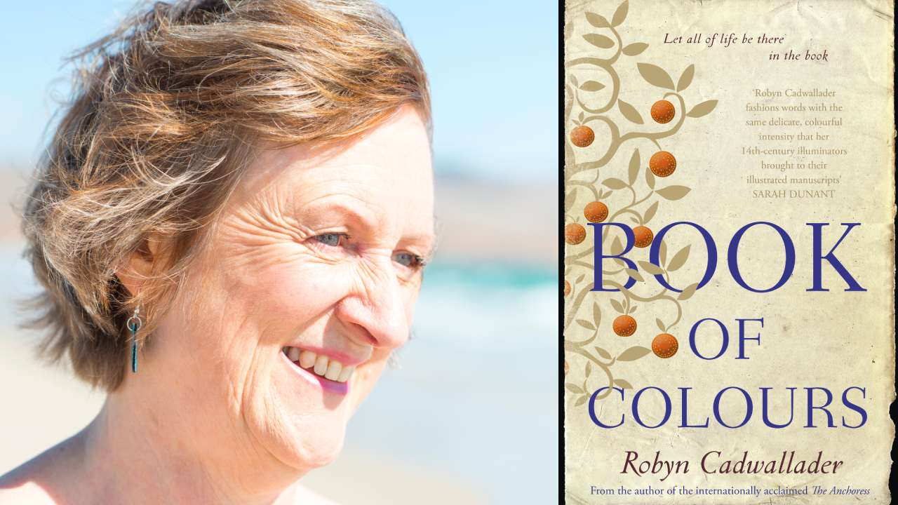 5 minutes with author Robyn Cadwallader