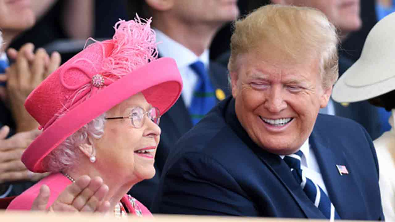 """Donald Trump gushes about the Queen: """"Great woman"""""""