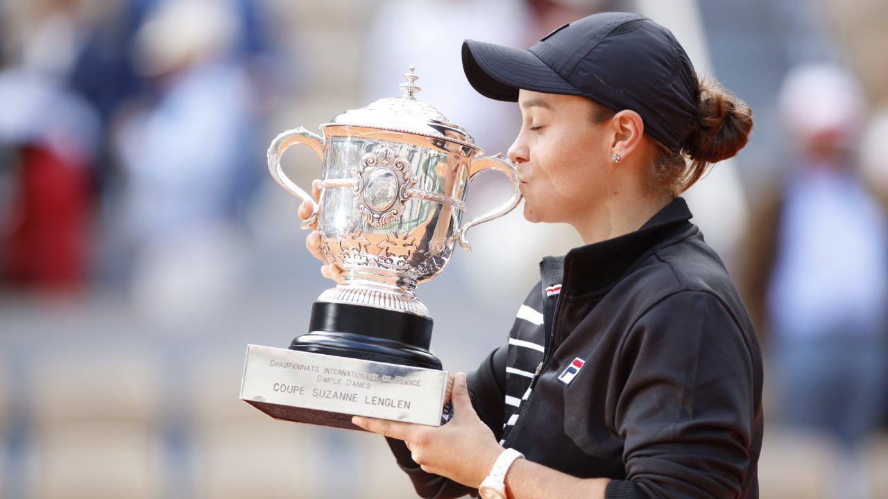 The big mistake Ash Barty spotted on the French Open trophy