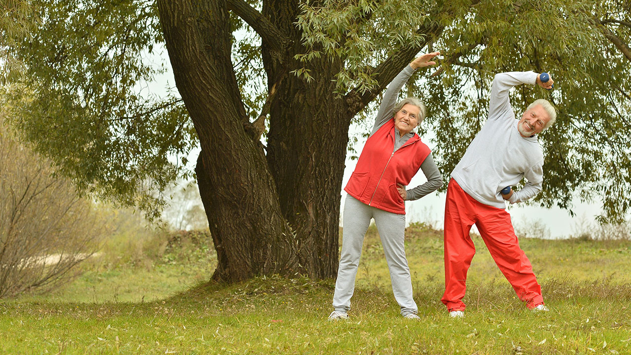 Top tips to keep fit and healthy as you age