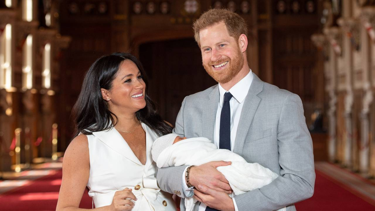 He's so sweet! Prince Harry and Meghan share adorable new photo of Archie