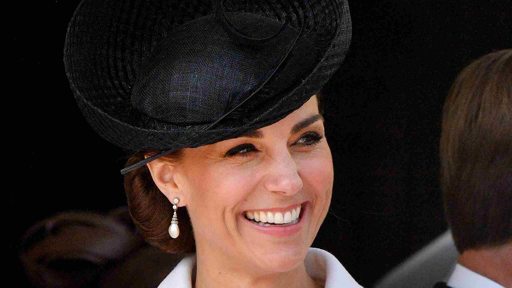 Magic in monochrome: Duchess Kate looks picture perfect for royal ceremony