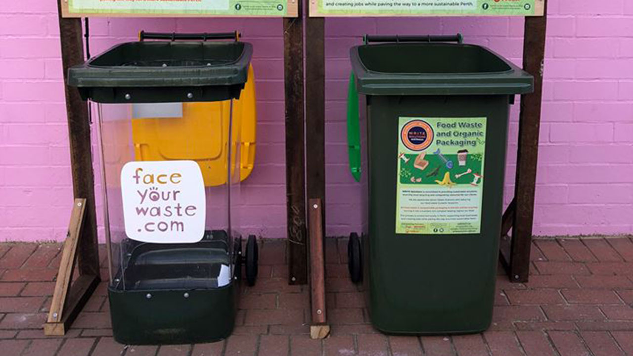 "The city trying to ""shame residents"" with see-through recycling bins"