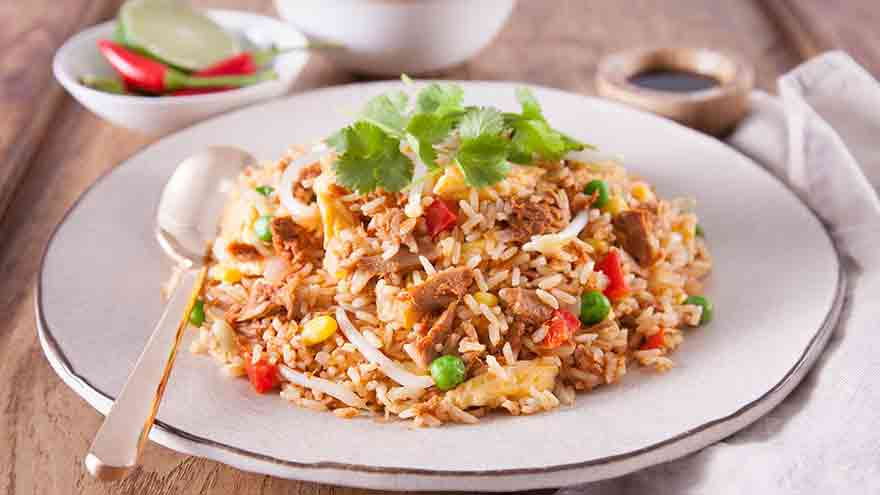 Make this delicious tuna nasi goreng on a cold night in!
