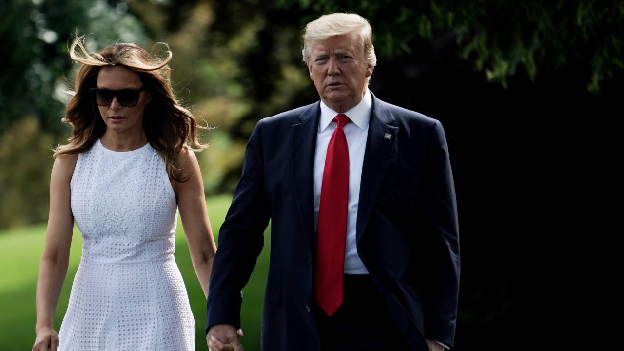 """I never saw any evidence of marriage"": New book claims Donald and Melania Trump lead separate lives"