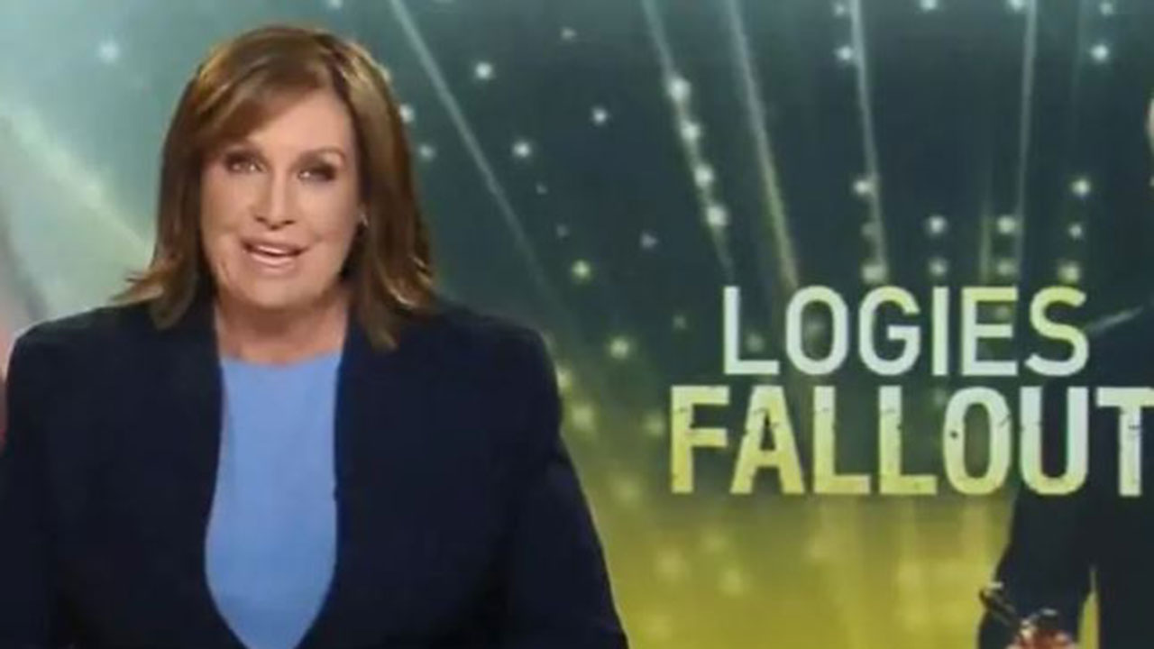 "Tracy Grimshaw rips into ""smug"" Tom Gleeson after Gold Logie win"