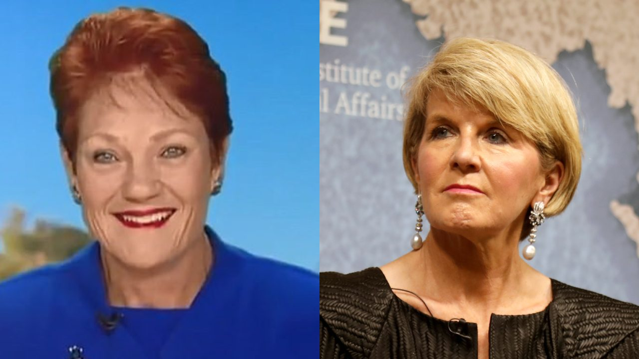 """I'm not interested"": Pauline Hanson tells Georgie Gardner what she really thinks about Julie Bishop"