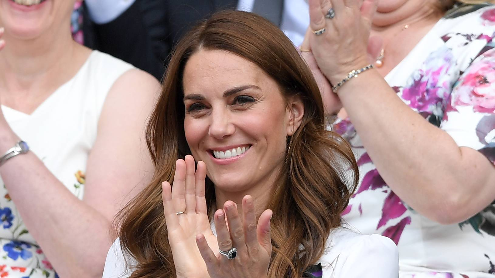 Duchess Kate stuns in white frock as she breaks tradition at Wimbledon