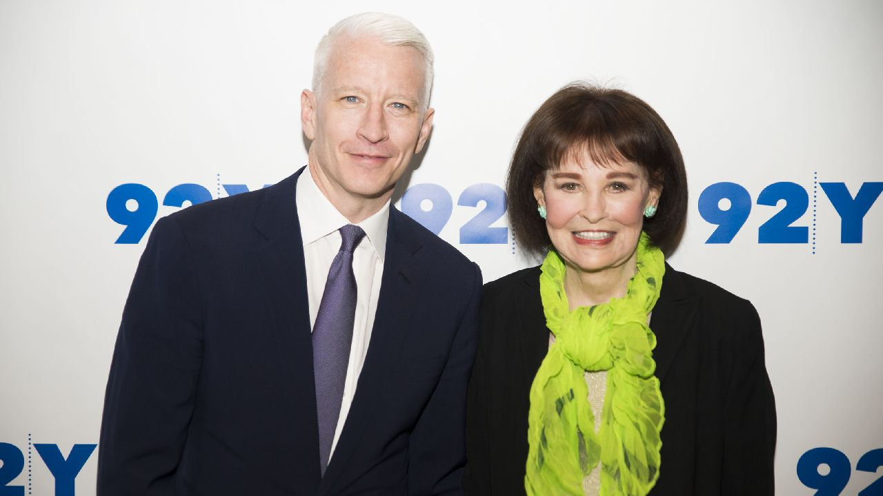 Big inheritance: Gloria Vanderbilt leaves bulk of her fortune to son Anderson Cooper