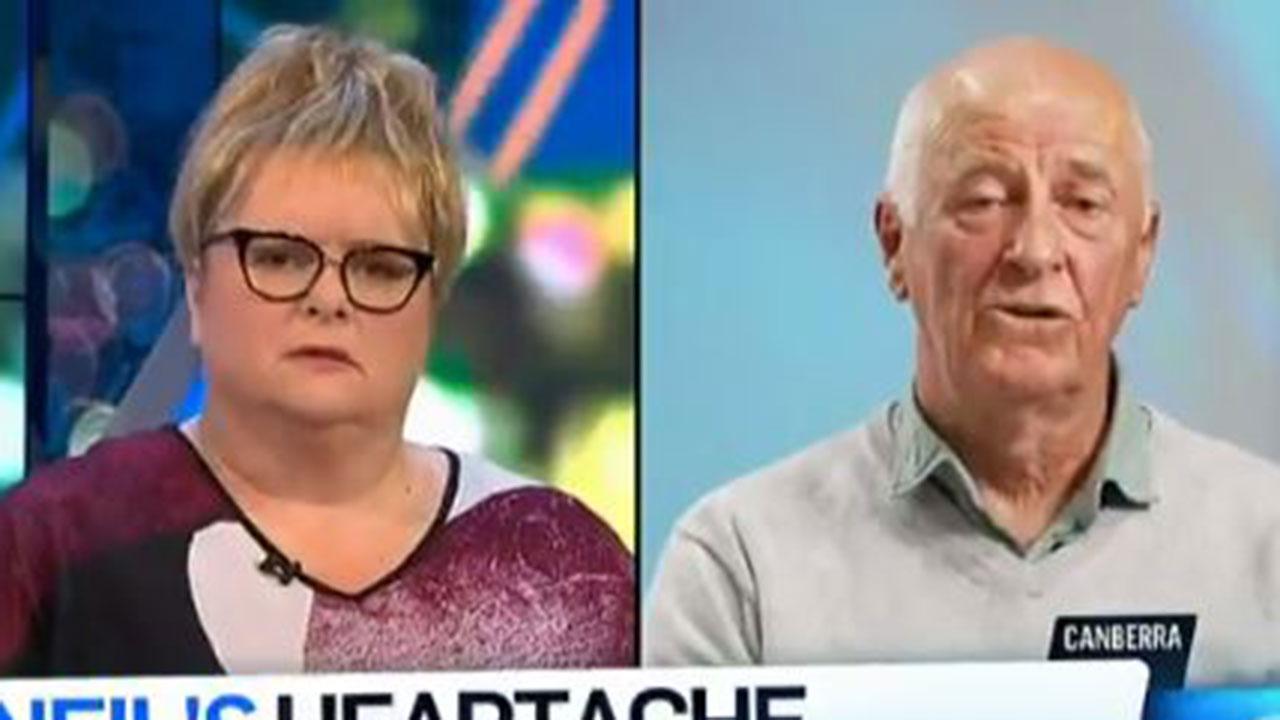 "Magda Szubanski's question brings man to tears: ""I'll live with the decision I made"""