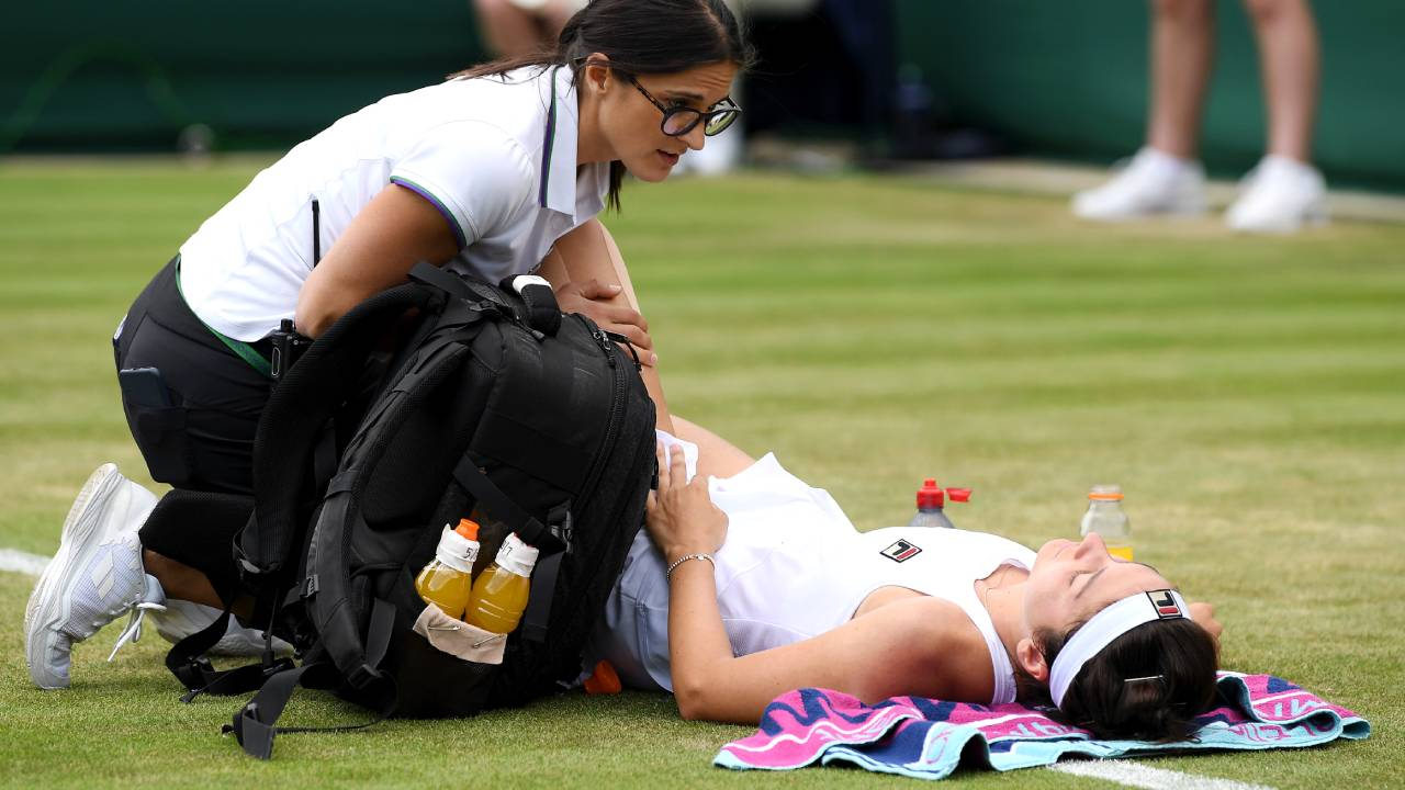 The heartbreaking moment that left Wimbledon spectators shattered