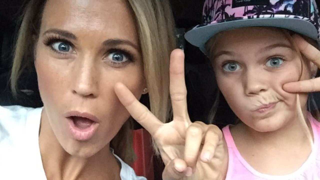 """""""You look like sisters"""": Bec Hewitt's 13-year-old daughter is all grown up!"""