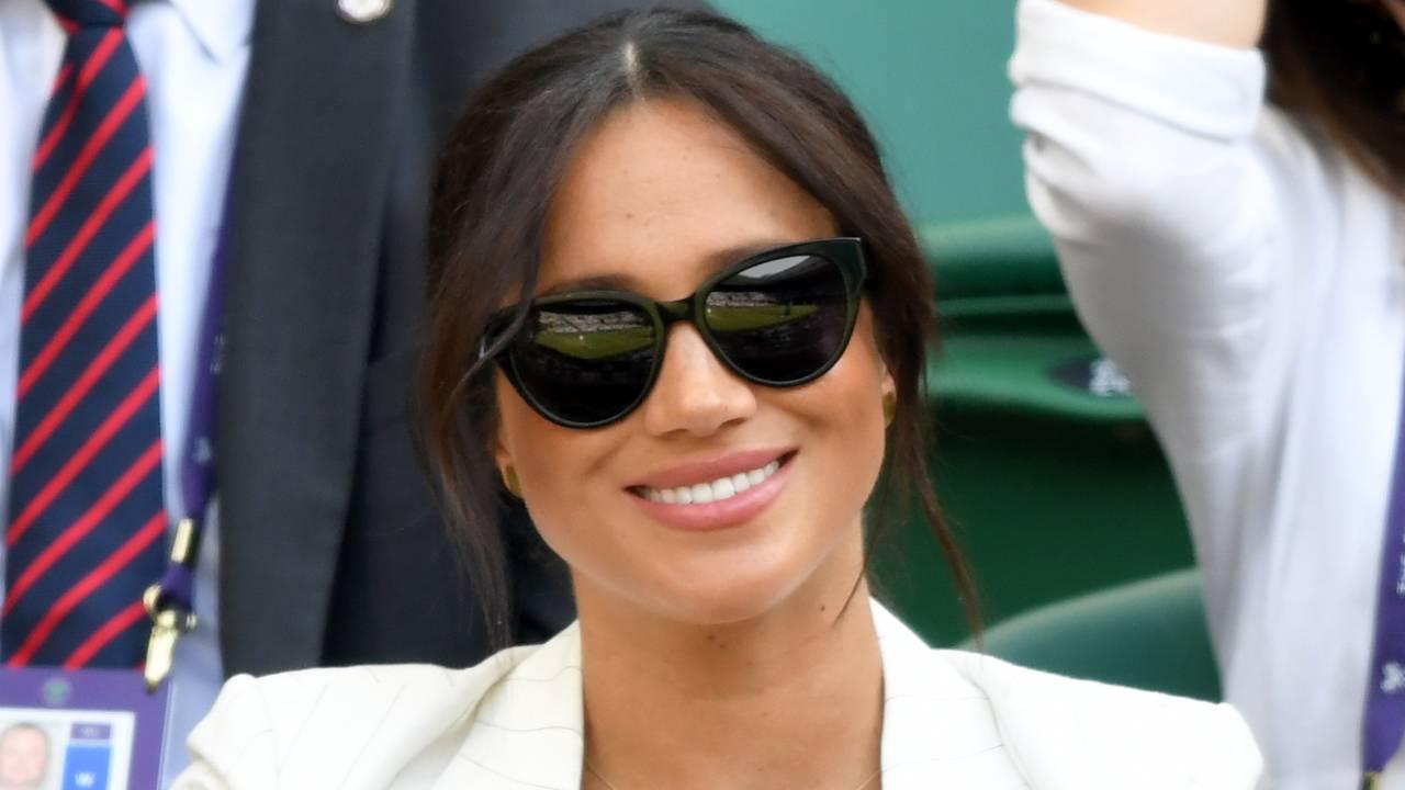 Duchess Meghan's sweet nod to newborn Archie in Wimbledon outfit