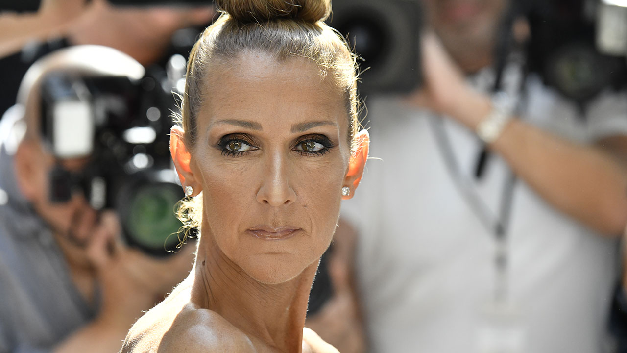 Style star: Celine Dion debuts dramatic new hairdo in Paris