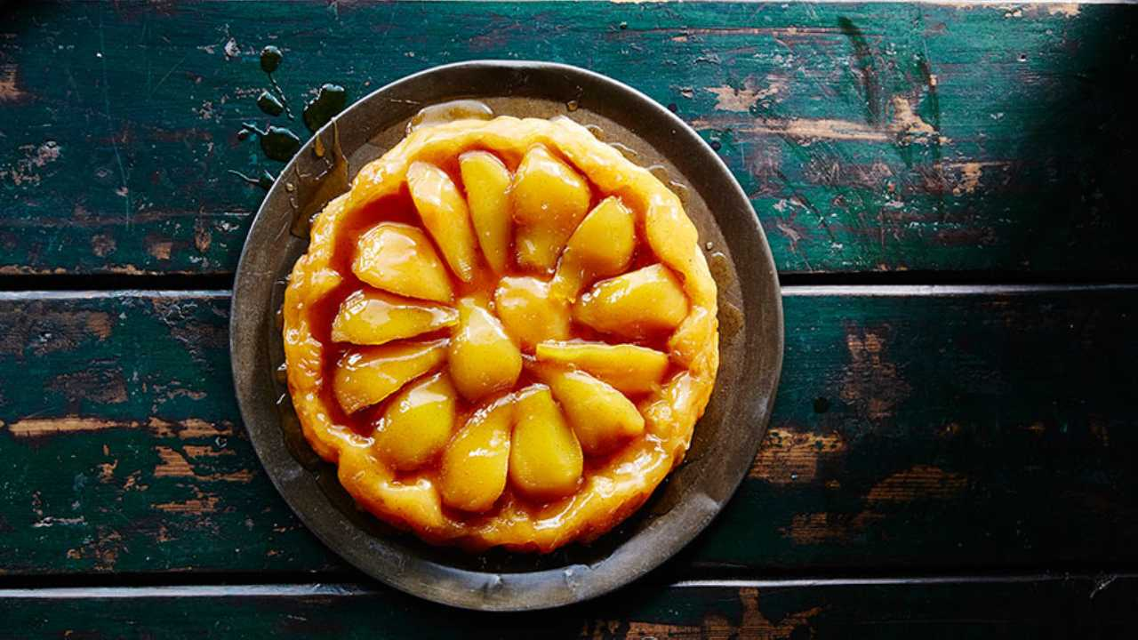French classic: Pear tarte tatin