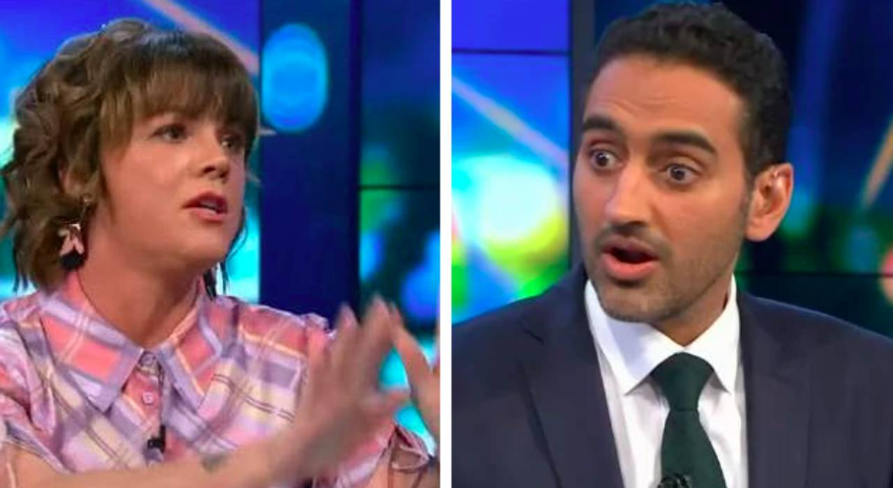 """""""Why do we have this weird chemistry?"""" The awkward question that left Waleed Aly speechless"""
