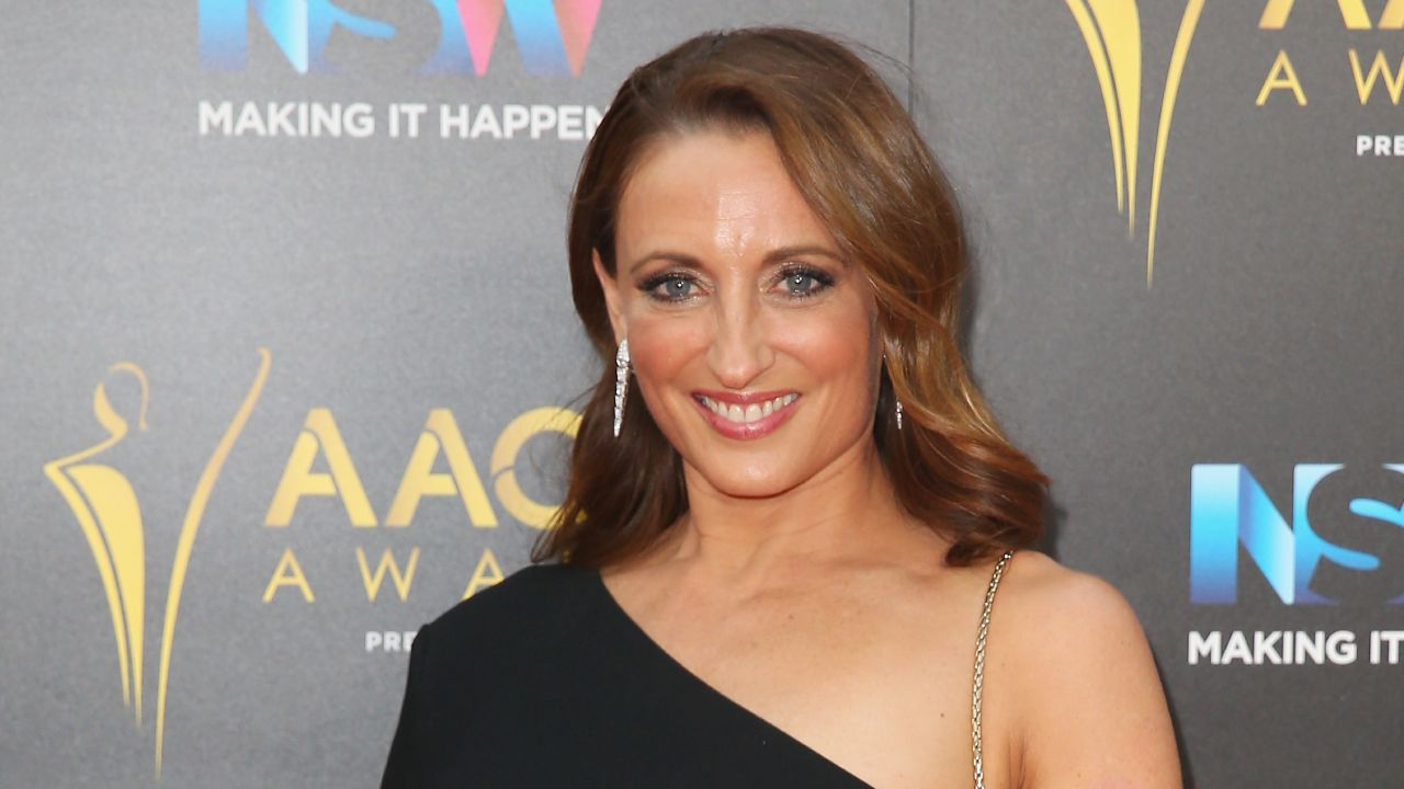 """It was a shock"": Georgie Parker on how she overcame her life-changing health diagnosis"