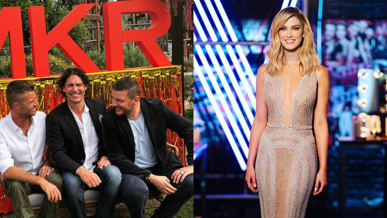 """""""She winds me up!"""" The unlikely feud between Delta Goodrem and this My Kitchen Rules judge"""